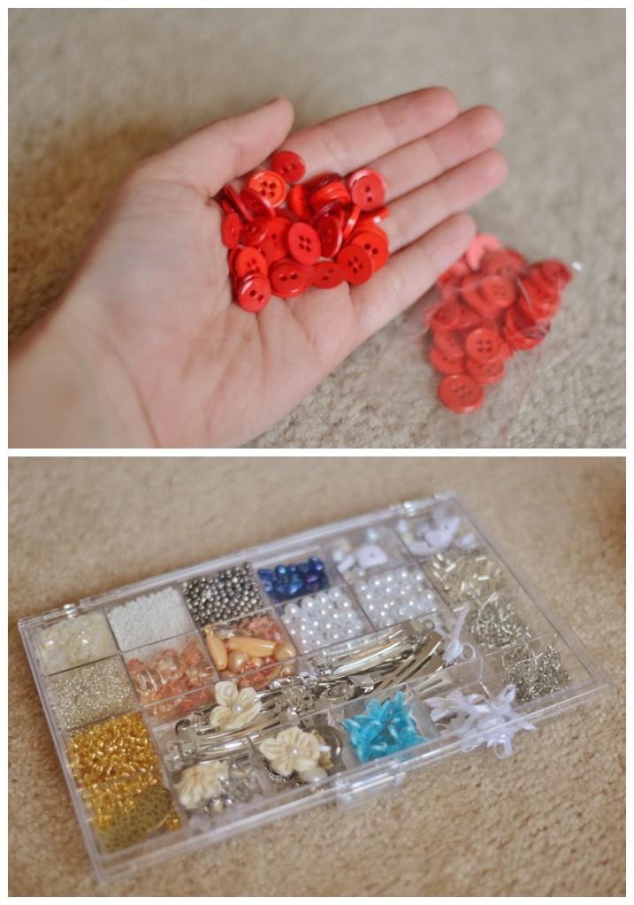 diy discovery bottle beads